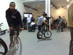 k124 house paris bicycle concept store inauguration party
