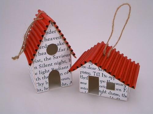 Елочные игрушки своими руками фото из бумаги и картона