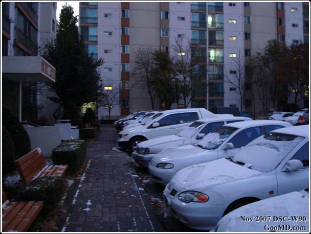 눈 오는 날...