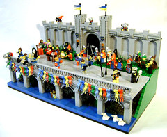 Festus Fatuorum (DARKspawn) Tags: castle festival lego celebration april fools diorama festus fatuorum