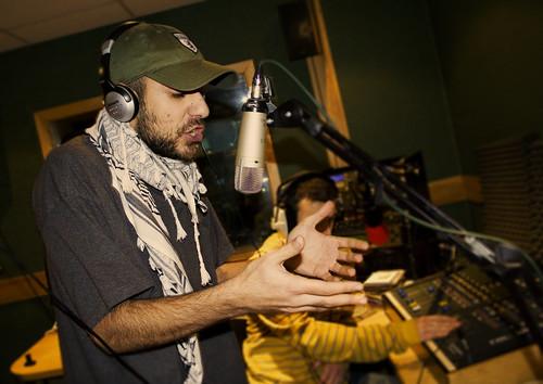 P.L.O. blesses the mic