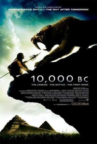 Nuevo póster y nuevo trailer de '10.000 BC': Dientes de sable al ataque