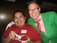 James, Charles Phoenix and Clifton's Cafeteria Jello. (12/09/2007)