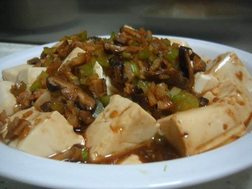 Silken Tofu With Mushroom Sauce + Recipe