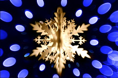 Christmas illumination (Fukuda.) Tags: christmas street blue japan night lensbaby canon eos gold flickr illumination harmony fukuoka canoneos theblues fpc outstandingshots flickrsmileys ithinkthisisart heartawards colourartaward mykindofpicturegallery
