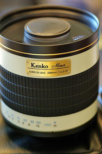 Kenko Mirror Lens 500mm