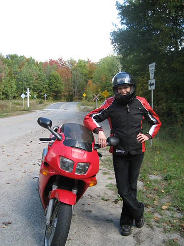 Angela with the VFR on road 13