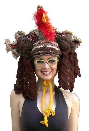 Sexy Turkey Hat - KNITTING PATTERN