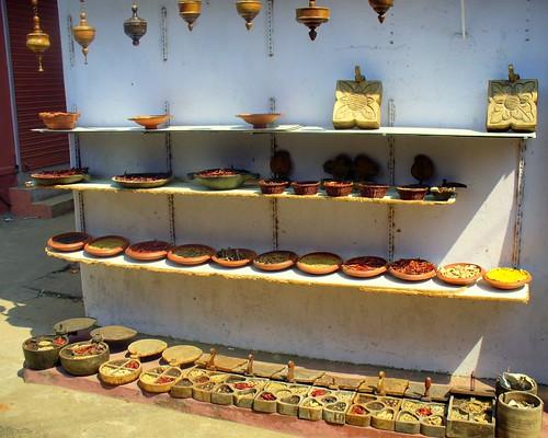 Spice market, Jewish quarter, Cochin