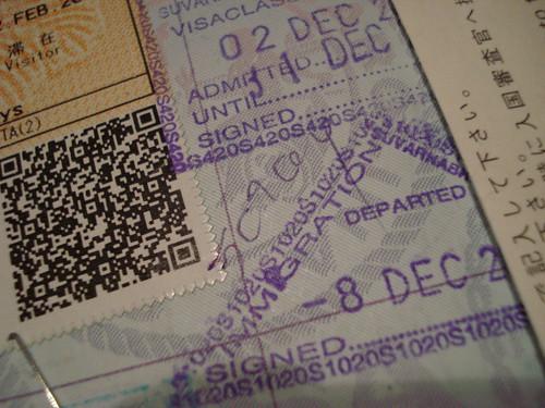 Thailand Passport Stamp