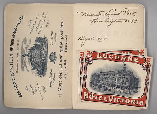 Lucerne: Lake & Envions, 1904