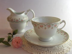 Tea with Nan .... (abbietabbie) Tags: china kitchen tea sugar explore carnation teacup saucer teaset milkjug gumpaste britishness sugarpaste ysplix top20drinks