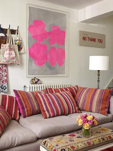 decoração de sala de estar fashion