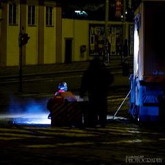 Noční Praha (pavel conka) Tags: night digital canon eos raw republic czech prague praha malostranska pavel 30d welder noční koleje soudeur schweißer nocni conka svarec