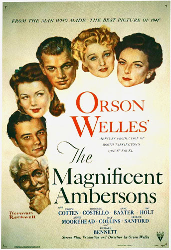 Magnificent Ambersons - original poster by Rockwell