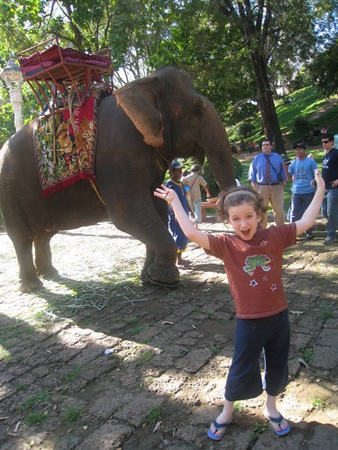 Iz and Sambar the Elephant