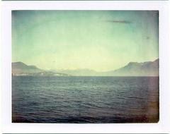 Lago Maggiore (emilie79*) Tags: blue mountains landscape lakes 669film polaroid340
