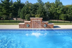 Signature Pools and Spas - Apollo Fiberglass Pool Chicago, Illinois