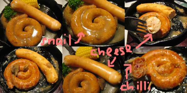 hip diner usa snail chicken and cheese
