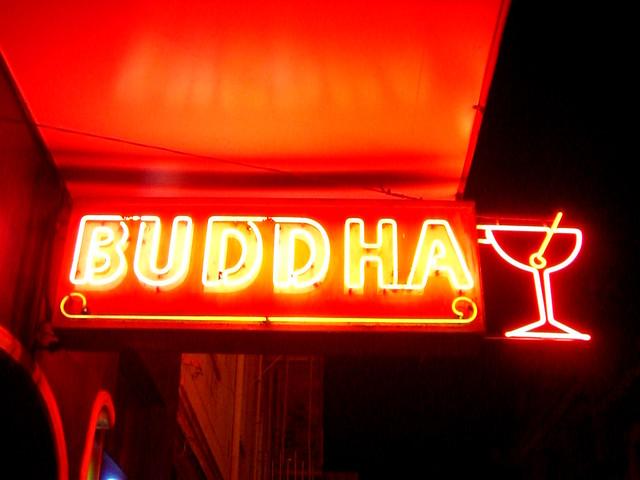 Martini Buddha