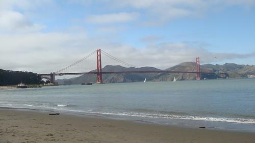 Il Golden Gate, bellissimo...