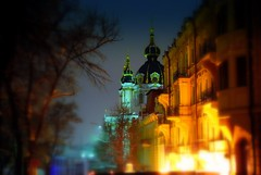 Ukraine, Kiev. St.Andrew's Church (lights2008) Tags: city winter snow art church beautiful night dark evening nikon ukraine tamron kiev kyiv  mostpopular  goldenglobe    outstandingshots nightkiev cener tamron175028 anawesomeshot flickrphotoaward worldofarchitecture hccity flickrbestpics