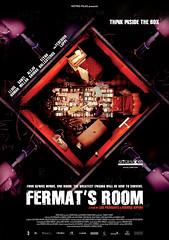 La habitación de Fermat cartel película