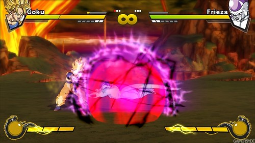 Dragon Ball Z Burst Limit Goku y Freeza