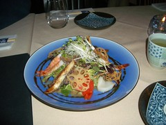 Sai Z Sashimi salad