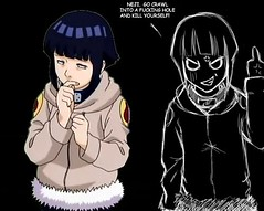 hinata (Like Magic) Tags: anime art fan fanart angry mad naruto hinata hyuuga