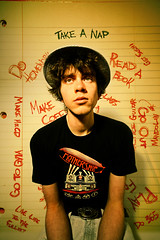 Day 291: The Complex Workings of a Simple Mind (Nick Today) Tags: portrait college shirt night photoshop self paper notebook days led list mind sharpie 365 friday simple complex zepplin igotthisledzepplinshirtforfreeyesterday
