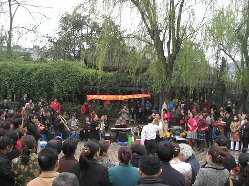 Music performance in People's Park