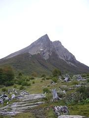 Ushuaia - trek - paso de la oveja - sommet