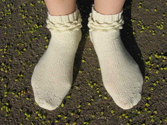 Ruffles and Bubbles socks