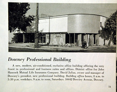 Downey, California  Downey Ave. (The Downey Conservancy) Tags: california ca george historical society 1959 conservancy downey redfox