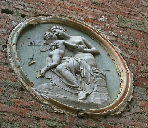 Venus kissing Cupid by you.