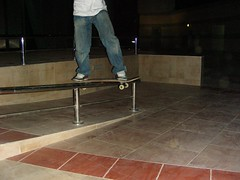 (barhooomo) Tags: from hell skaters tricks skateboard doha qatar aspire kickflip  villaggio