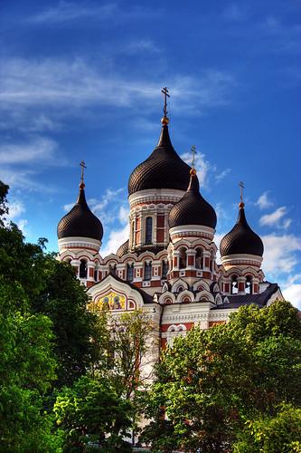 [フリー画像] 建築・建造物, 教会・聖堂・修道院, HDR, ロシア, 200807121100