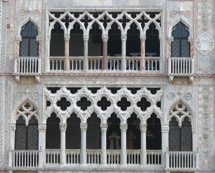 Ca dOro, Giovanni and Bartolomeo Bon, 1428-1430, Grand Canal, Venice