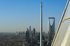 Riyadh Clear Day Feb-18-178 (Bader Otaby) Tags: riyadh saudi arabia cityscape nikon d7100 rooftopper architecture burj hamad