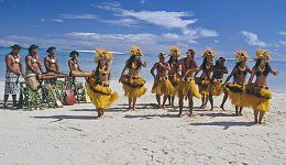 Cook Island Dancers