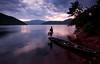 Explored! Fishing in the lake, Tatipudi Reservoir (KjayK) Tags: sunset lake clouds evening fishermen reservoir vizag