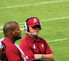 Coach Joe Gibbs by littlerottenrobin