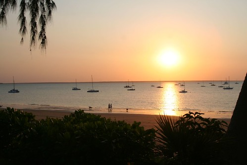 Sunset Darwin Sailing Club Fannie Bay