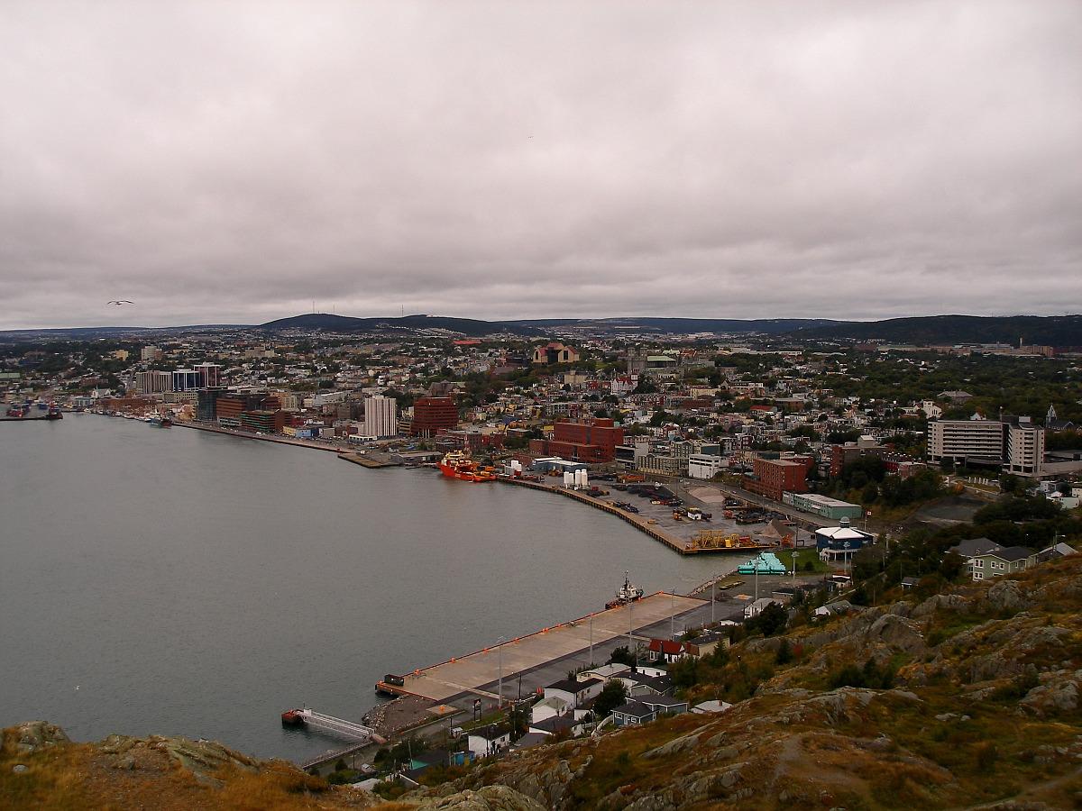Cloudy St. John's