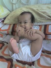 my foot!