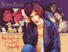 Susan Egan also signed this photo for me. (10/2007)