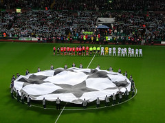 Champions League (Andrew McKenna) Tags: glasgow celtic fans slbenfica supporters anthem uefachampionsleague youllneverwalkalone celticpark aidenmcgeady