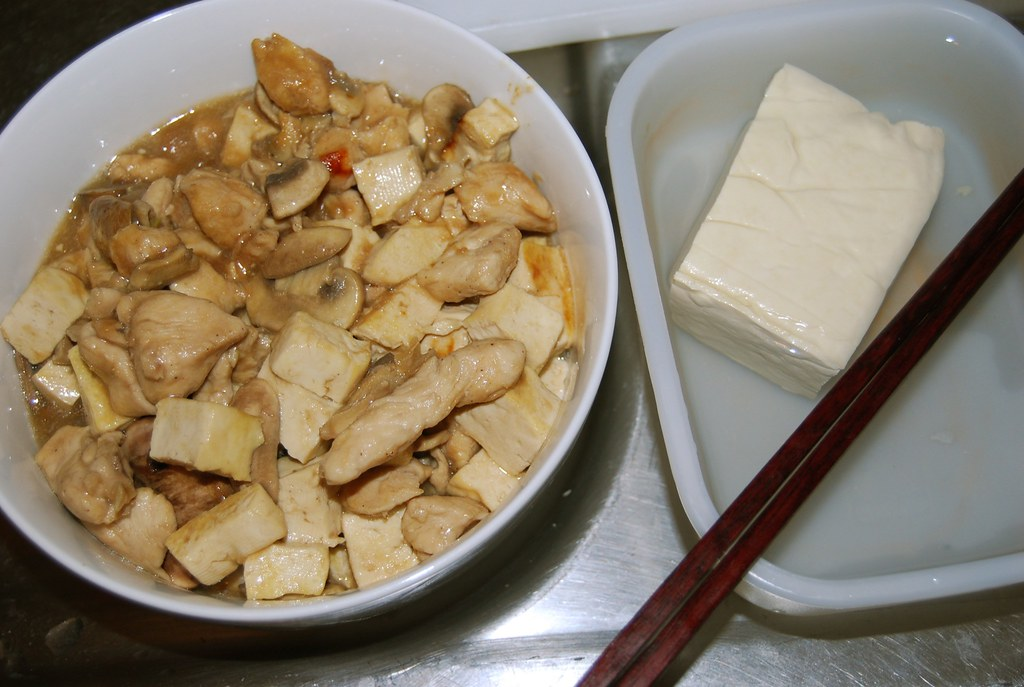 Tofu Dinner (with Recipe now)