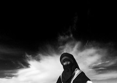 Tuareg in the desert, Ghadames area, Libya (Eric Lafforgue) Tags: africa cloud black desert culture tribal tribes tradition tribe nuage ethnic libya tribo touareg tuareg ethnology tribu libia libye libyen ghadafi fezzan h3d  lbia 13611 lafforgue 123bw ethnie libi libiya  ribia liviya khadafi libija       lbija  lby  libja lbya liiba livi